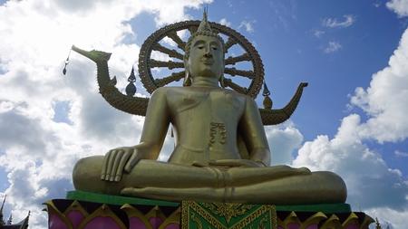 famous big buddha statue landmark in thailand Stock fotó