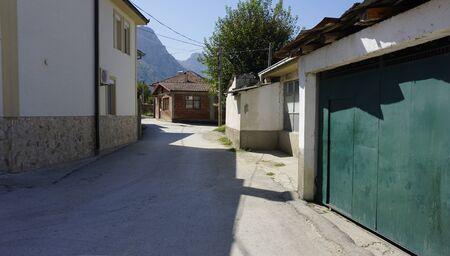 rural village near skopje in macedonia