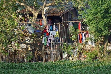 simple life in a residential area in hue