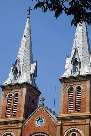 notre-dame church of ho chi minh city in vietnam Stock fotó