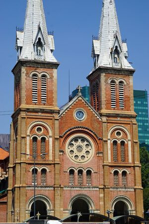 notre-dame church of ho chi minh city in vietnam