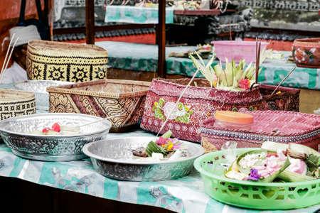 A balinesian offering.