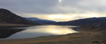 sierras: Lake Isabella Stock Photo