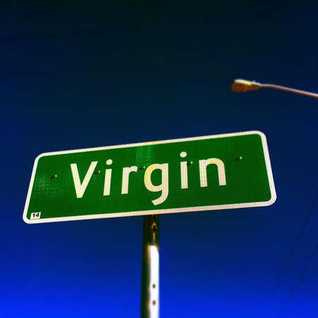ut: Virgin, Utah Stock Photo