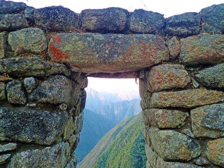 hilarious: Inca trail, Machu Picchu, Peru