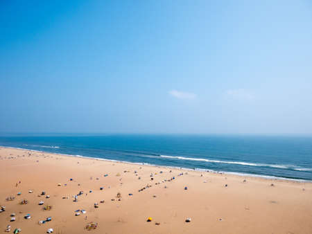 Marina beach in Chennai City, Stock Photo