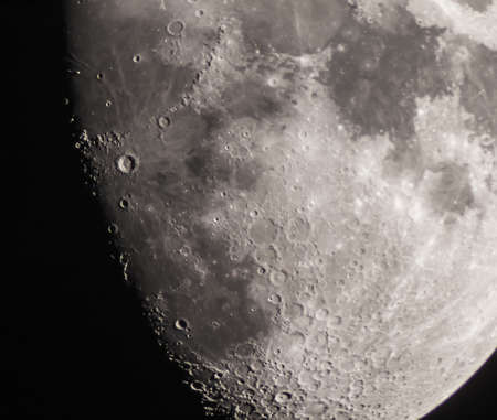 copernicus: Astrophoto of moon and the crater Copernicus