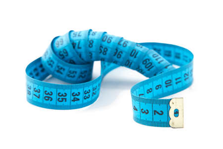cm: Image measuring tape, cm on white background