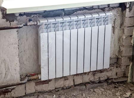 overhaul: Installation of the radiator battery during overhaul