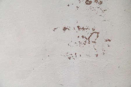 White peeling off concrete wall Stock Photo