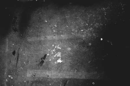 Photo of old scratched surface texture black and white colors