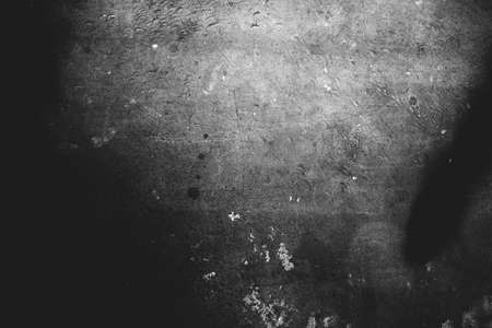 Photo of old scratched surface texture in black colors
