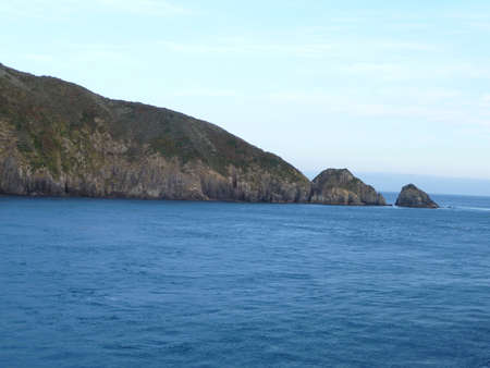 New Zealands coast and landscape