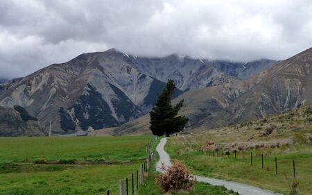 lonely trail Standard-Bild