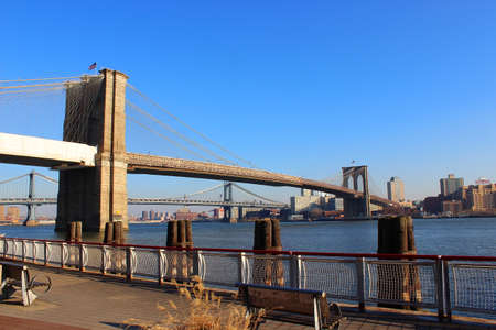 eventide: Brooklyn Bridge in Newyork