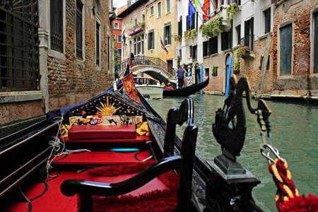venice gondola: venice gondola italy