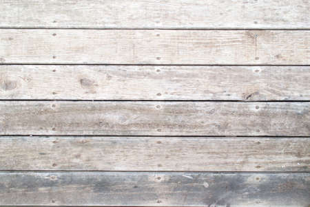 hardwood planks: textured background of a grey timber boardwalk Stock Photo