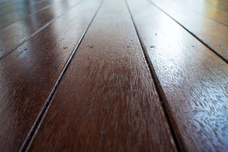 merbau: stained timber decking