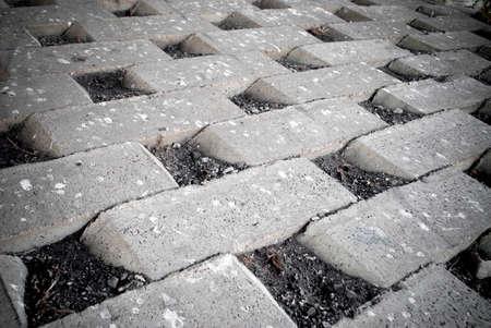 retaining: concrete brick retaining wall background