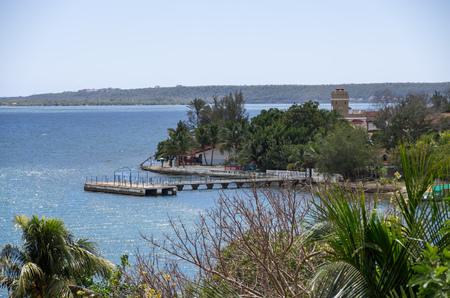 Bay in Cienfuegos, Cuba Stock Photo - 90163511