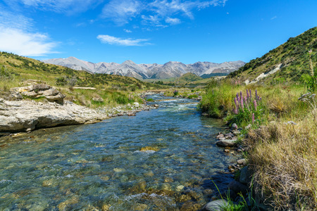 in the mountains , cave stream scenic reserve, arthurs pass, new zealand