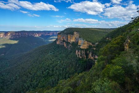 govetts leap lookout, blue mountains national park, australia