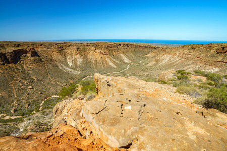 charles knife canyon near exmouth, coral coast, western australia