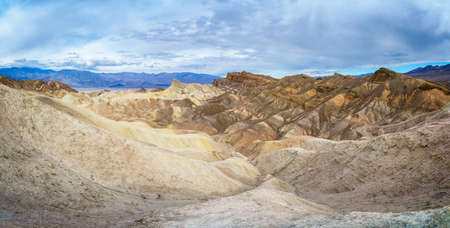 zabriskie point in death valley national park in california in the usa