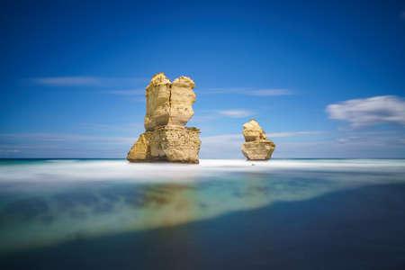 famous gibson steps, twelve apostles, great ocean road in victoria, australia
