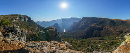 hiking the leopard trail in the blyde river canyon, mpumalanga, south africa