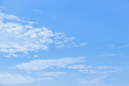 blue sky: Blue sky and white clouds background. Stock Photo