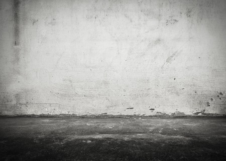 concrete: Extracto viejo y sucio muro de hormigón de textura de fondo.