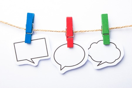 Collection of blank speech bubbles for your edit.