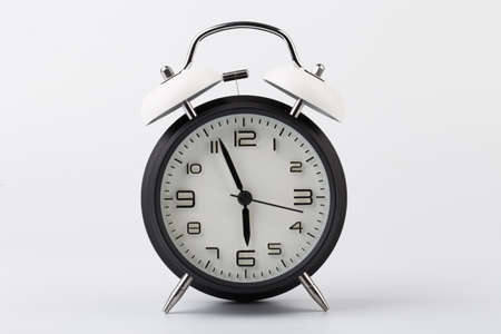 Alarm Clock isolated on white background.