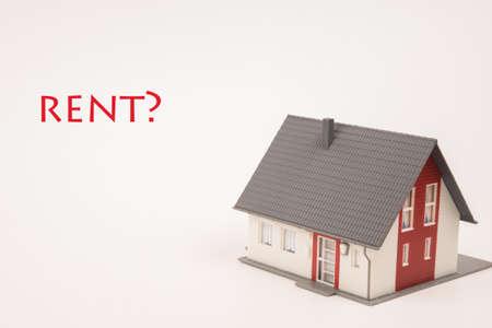 landlord: property rent Stock Photo