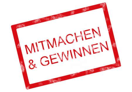 participate: participate and win german
