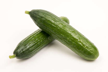 cucumbers: cucumbers with white background