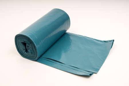 basura: aislado bolsa de basura Foto de archivo