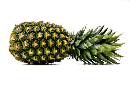 heathy: pineapple isolated on white background