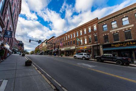 Brattleboro, Vermonts Small Cozy Downtown Area