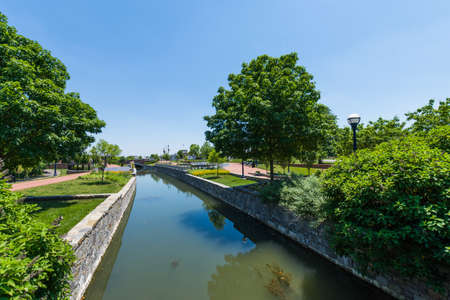 west river: Scenic Area in Carrol Creek Promenade in Frederick, Maryland