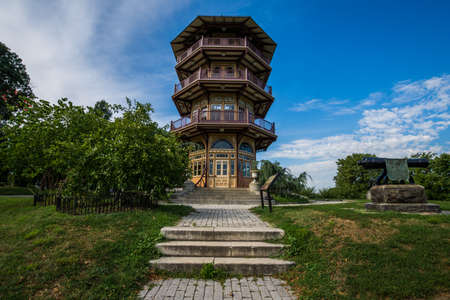Patterson Park Pagoda in Baltimore, Maryland