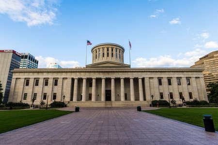 コロンバス、オハイオ州のオハイオ州議会議事堂