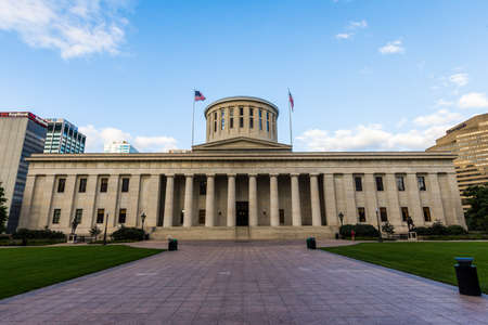 The Ohio Statehouse in Columbus, Ohio