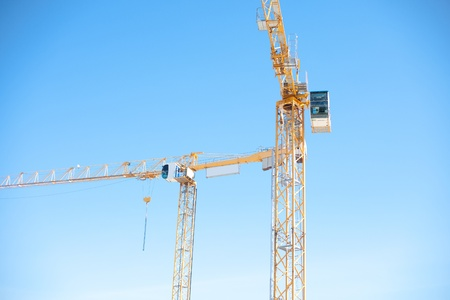Building cranes Stock Photo - 13227503