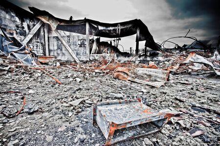 industrial ruins: industrial ruins