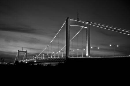 gothenburg: Suspension bridge in gothenburg Sweden
