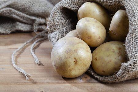 russet: Organic potatoes bag