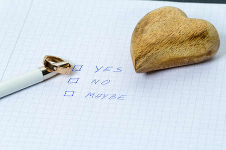 Proposal of marriage
