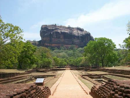 srilanka: Rock of Sirigaya to Sri-Lanka
